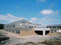 中春別中学校校舎改築建築主体工事