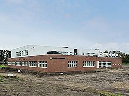上西春別中学校校舎防音改築建築主体工事