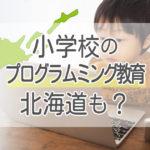 小学校の「プラグラミング教育」って北海道でも実施されるの?