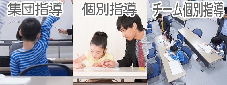 学習塾の3つの種類