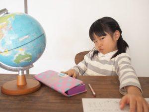 勉強を嫌がる子供