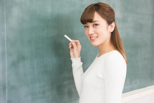 大学生の女子生徒