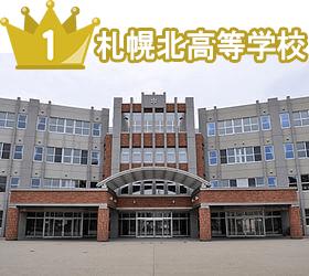 札幌北高等学校no1