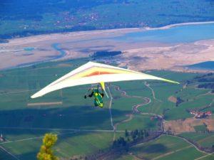 ハンググライダー