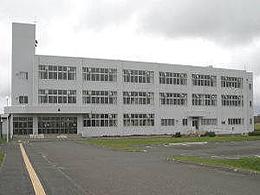 天塩高校の外観写真