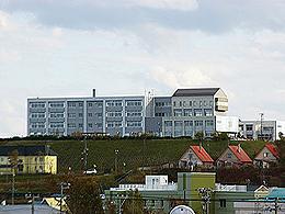 稚内高校の外観写真