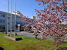 浜頓別高校の外観写真