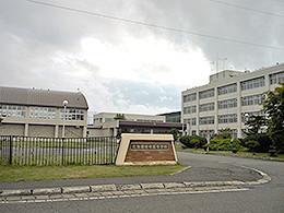 枝幸高校の外観写真
