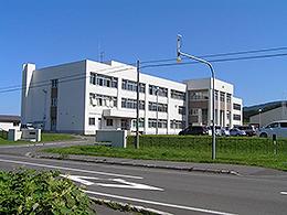 利尻高校の外観写真