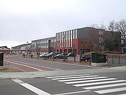 斜里高校の外観写真