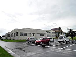 南幌高校の外観写真