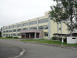 湧別高校の外観写真