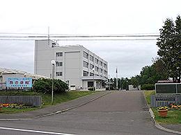 興部高校の外観写真