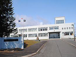 雄武高校の外観写真