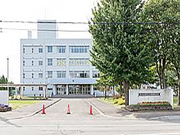 奈井江商業高校の外観写真