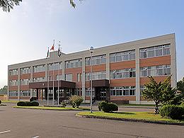 上士幌高校の外観写真