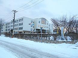 釧路江南高校の外観写真