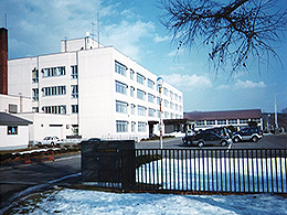 白糠高校の外観写真