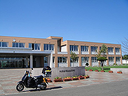 別海高校の外観写真