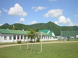 士別東高校の外観写真
