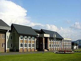 幌加内高校の外観写真