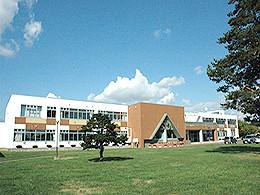 剣淵高校の外観写真