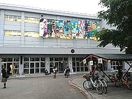 千歳北陽高校の外観写真