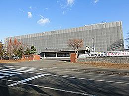 北広島高校の外観写真