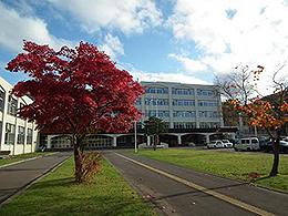 小樽未来創造高校の外観写真