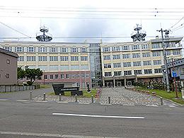 小樽水産高校の外観写真