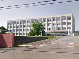倶知安高校の外観写真