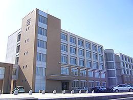 室蘭清水丘高校の外観写真