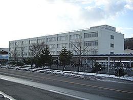 登別青嶺高校の外観写真