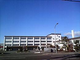 伊達高校の外観写真