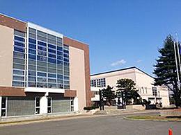 旭川東高校の外観写真
