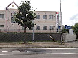 旭川工業高校の外観写真