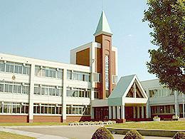 旭川農業高校の外観写真
