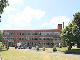 名寄産業高校の外観写真