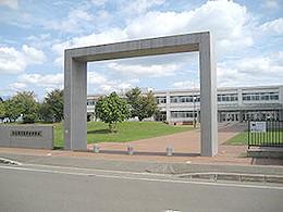 富良野高校の外観写真