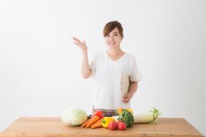 栄養士の女性