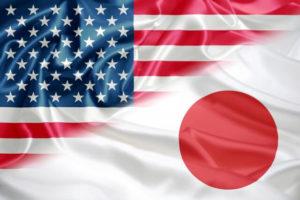 アメリカと日本