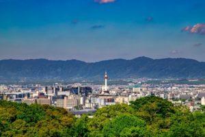 京都の市街風景