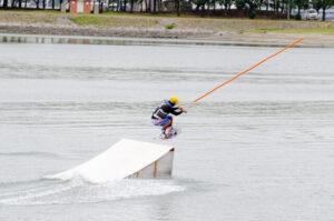 水上スキージャンプ