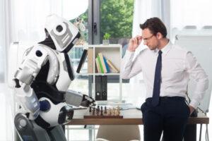 人間VSロボット